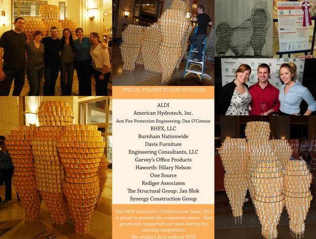 Canstruction sponsorship
